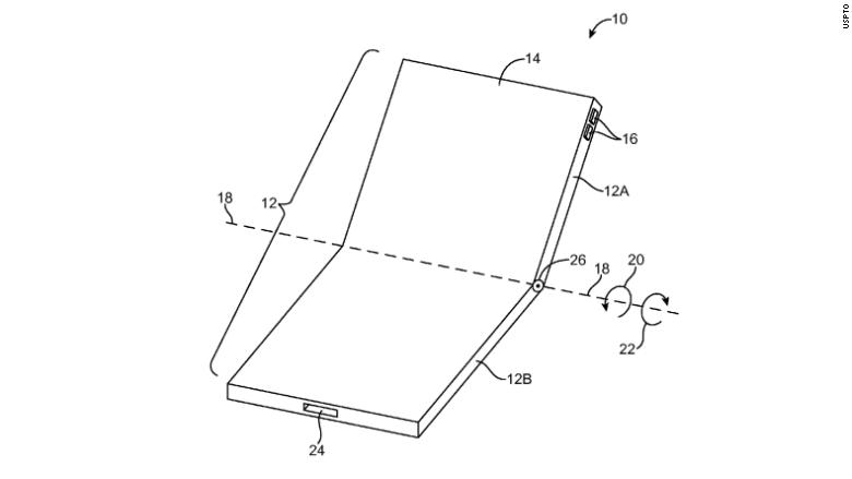 Apple insiste con el teléfono plegable