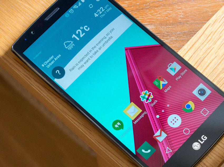 LG estrenará tecnología para evitar accidente con el G6