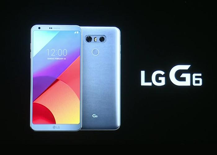 Lanzamiento del LG G6 en el MWC 2017