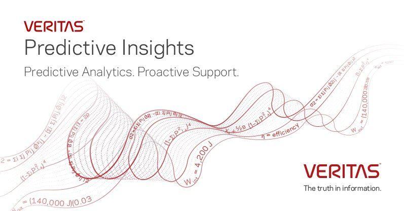 Veritas Predictive Insights utiliza la inteligencia artificial y el aprendizaje automático para predecir y prevenir