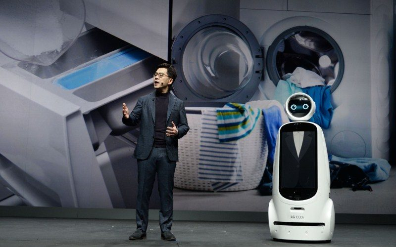 LG Electronics presentó su visión 'Ai For An Even Better Life' durante su Keynote en CES 2019