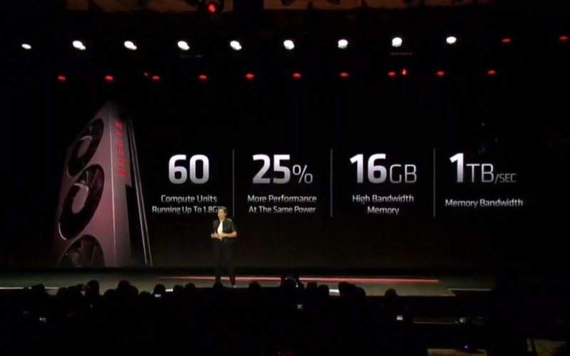 AMD presenta la primera GPU para gaming de 7 nm del mund