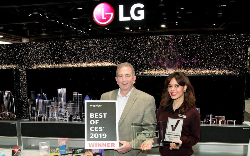 LG recibe más de 140 premios y reconocimientos CES en distintas categorías