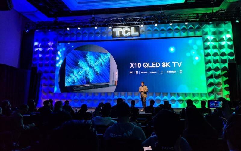 TCL X10 gana el prestigioso premio 8K TV en CES 2019
