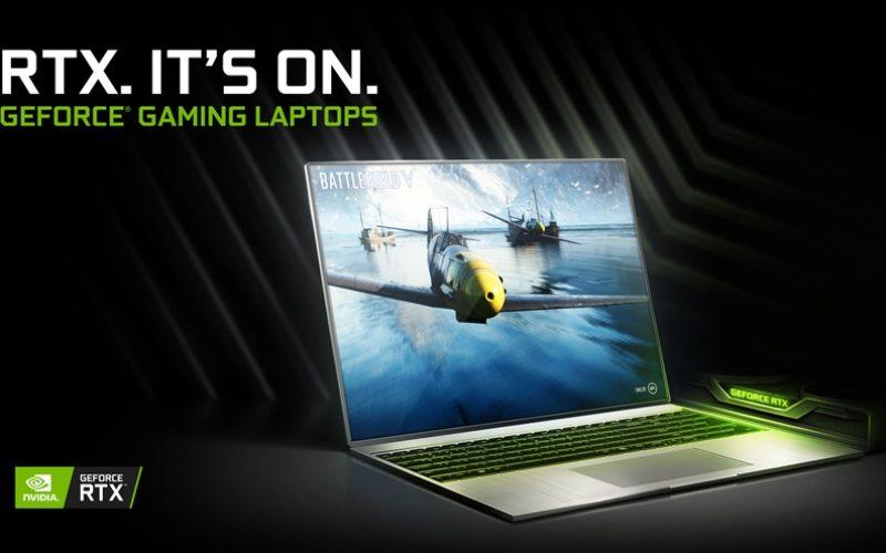 NVIDIA GeForce RTX potencia un número récord de nuevas Laptops para juegos