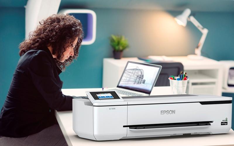 Epson presenta impresora técnica inalámbrica SureColor T3170