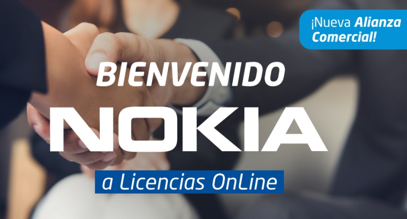 Licencias OnLine amplía su base de canales con Nokia