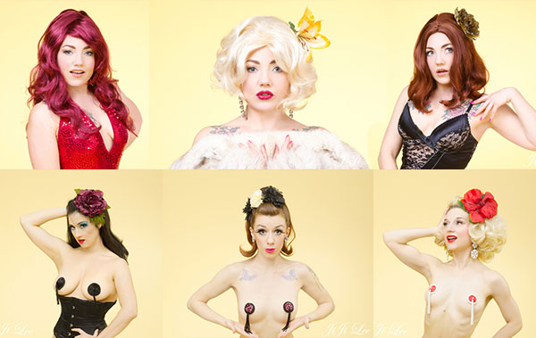 Burlesque accessories, shop online or in one of our pop up shops.