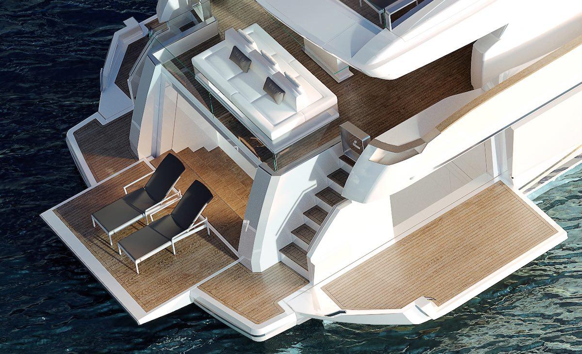 ladenstein yacht 88 beach club
