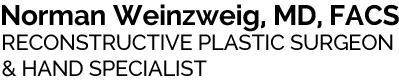Norman Weinzweig, MD, FACS Logo