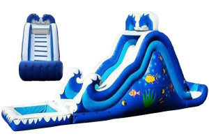 Inflatable Wet Slide for rent Sheridan Wyoming