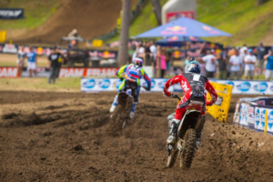 Roczen popped Barcia to second in the points. Pic: Cudby