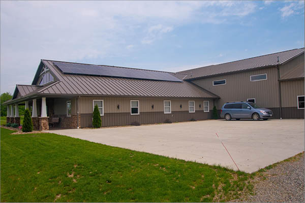 Wooster Builders Commercial Solar Array