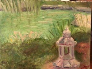 Plein Air Painting: 11 x 14 Oil