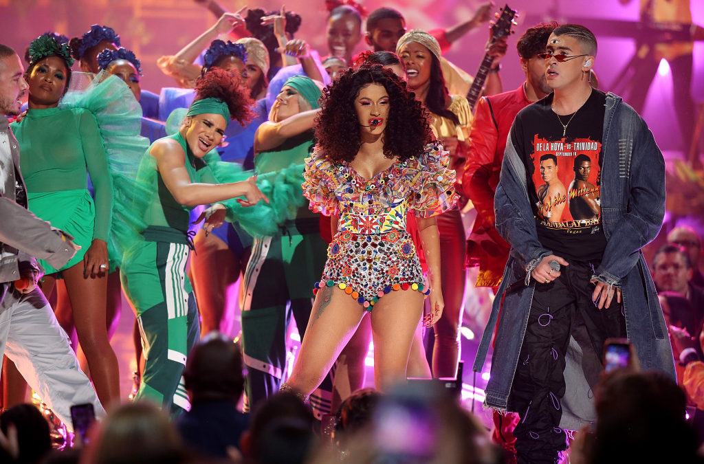 "Cardi B, Bad Bunny & J Balvin Perform ""I Like It"" At The AMA's [Video]"