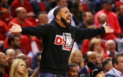 Drake Celebrating At Raptors Games Angers Bucks Coach, 6 God Shrugs It Off