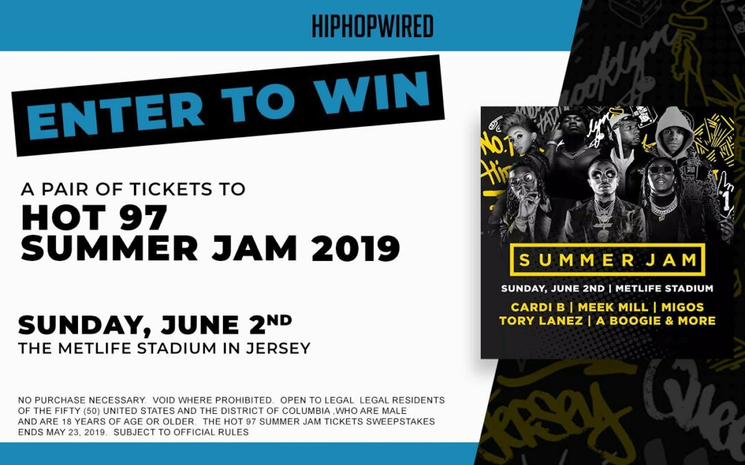 HipHopWired's Hot 97 Summer Jam Tickets Sweepstakes