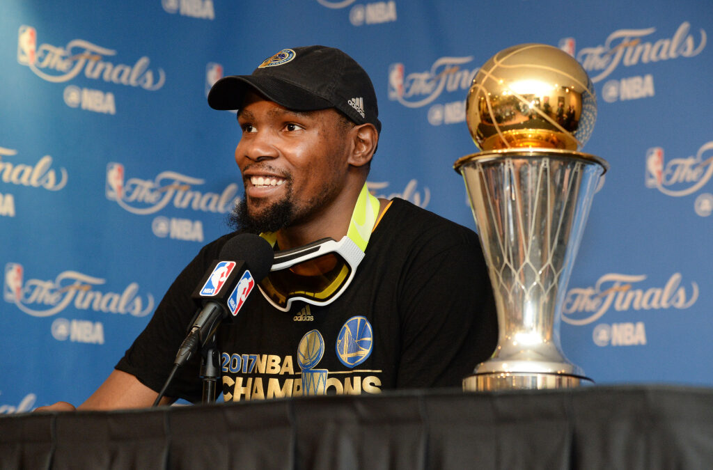 Kevin Durant Invests In Master & Dynamic, Will Design His Own Headphones