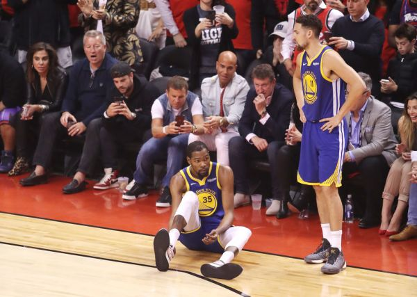Kevin Durant Suffers Tough Injury During Game 5 Of NBA FInals