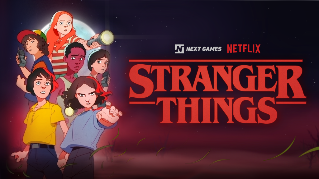 #E32019: Netflix's 'Stranger Things' Mobile Game Coming To iOS & Android In 2020