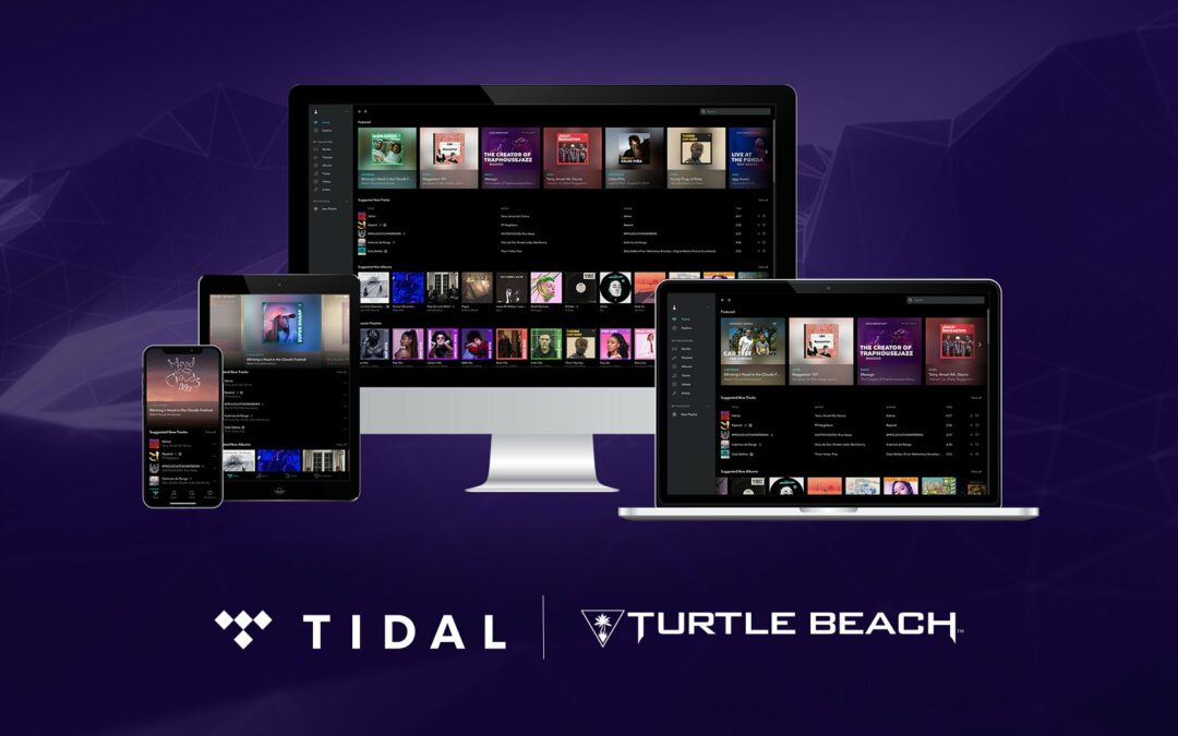 Turtle Beach X Tidal Announce New Partnership To Bring Premium Music To Gamers