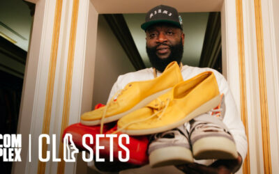 Rick Ross Shows Complex Just How Insane His Sneaker Collection Is