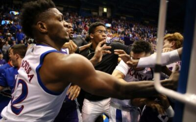 Final Fade Tourney: Kansas vs. Kansas State Basketball Game Erupts Into All-Out Brawl