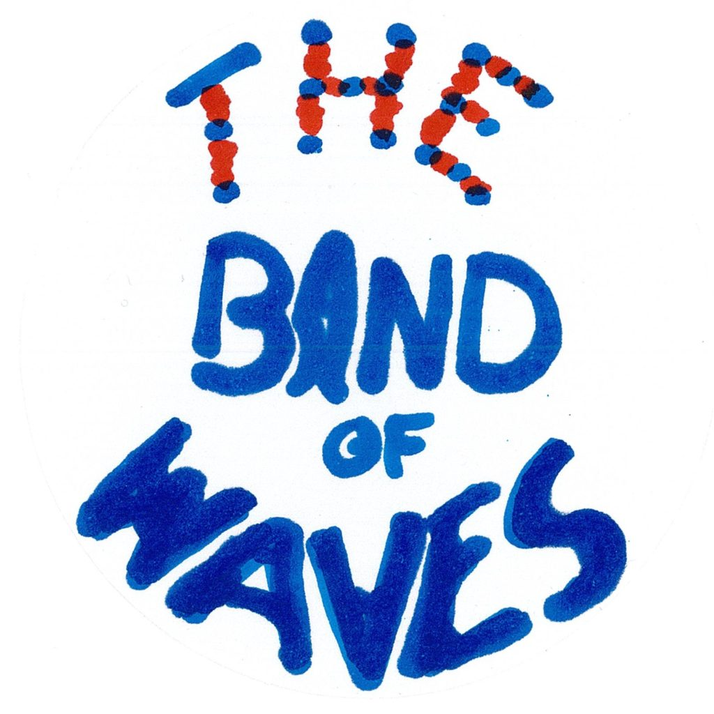 The Band of Waves - Drum Logo