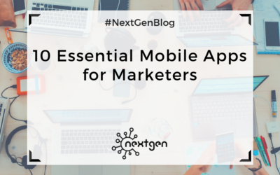 10 Essential Mobile Apps for Marketers