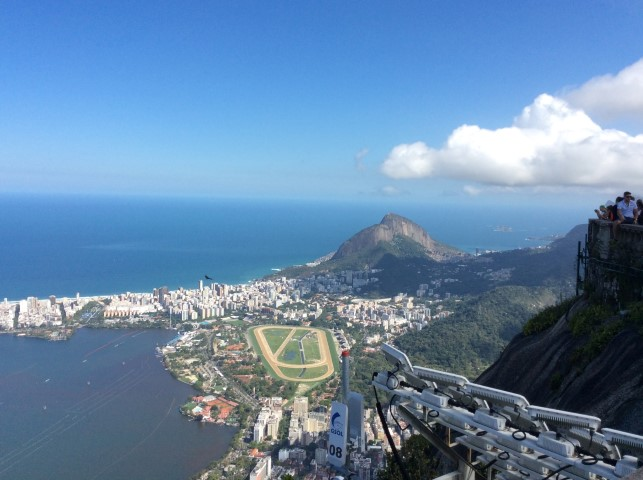 View from atop Corcovado