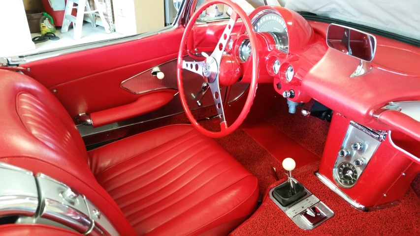 After Replacing the Interior