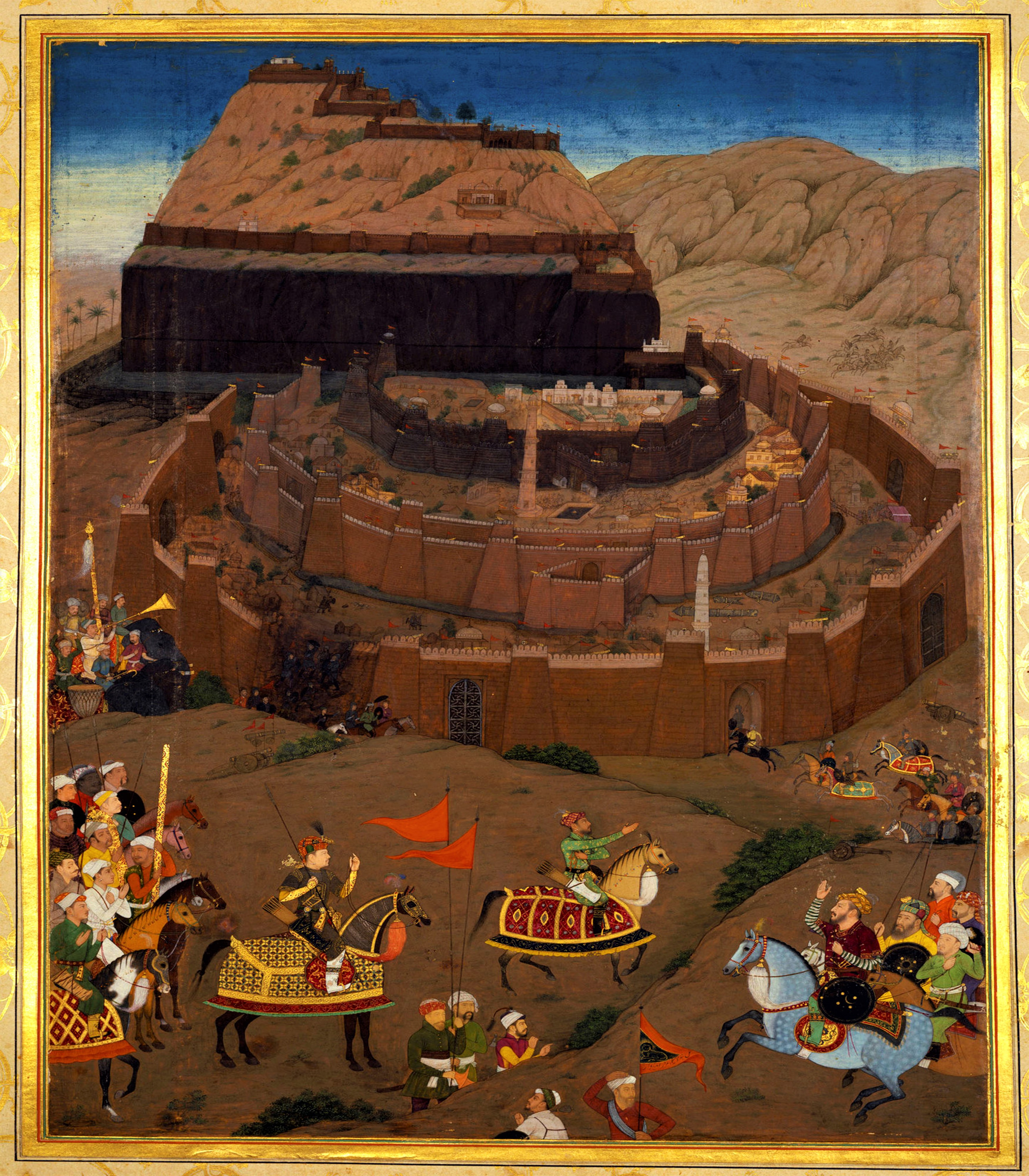 Capture of Daulatabad by Mughals
