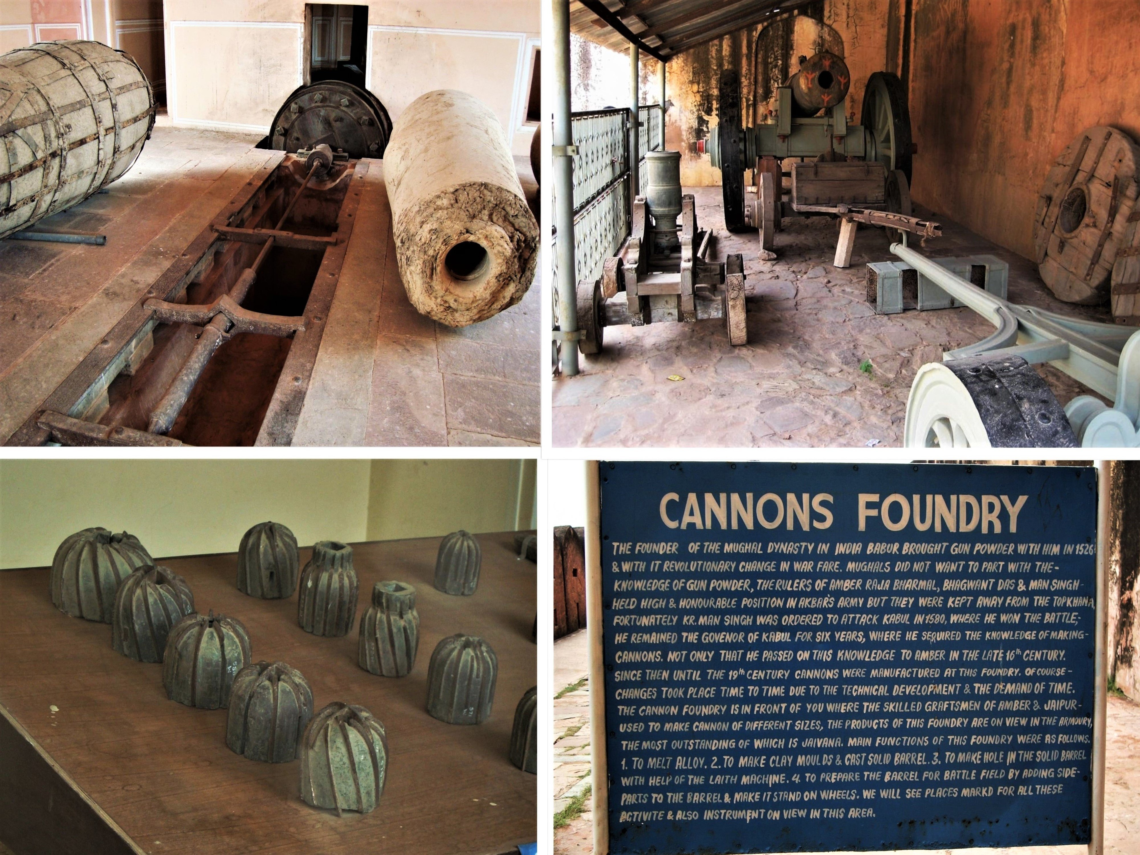 Various parts of Cannon Factory