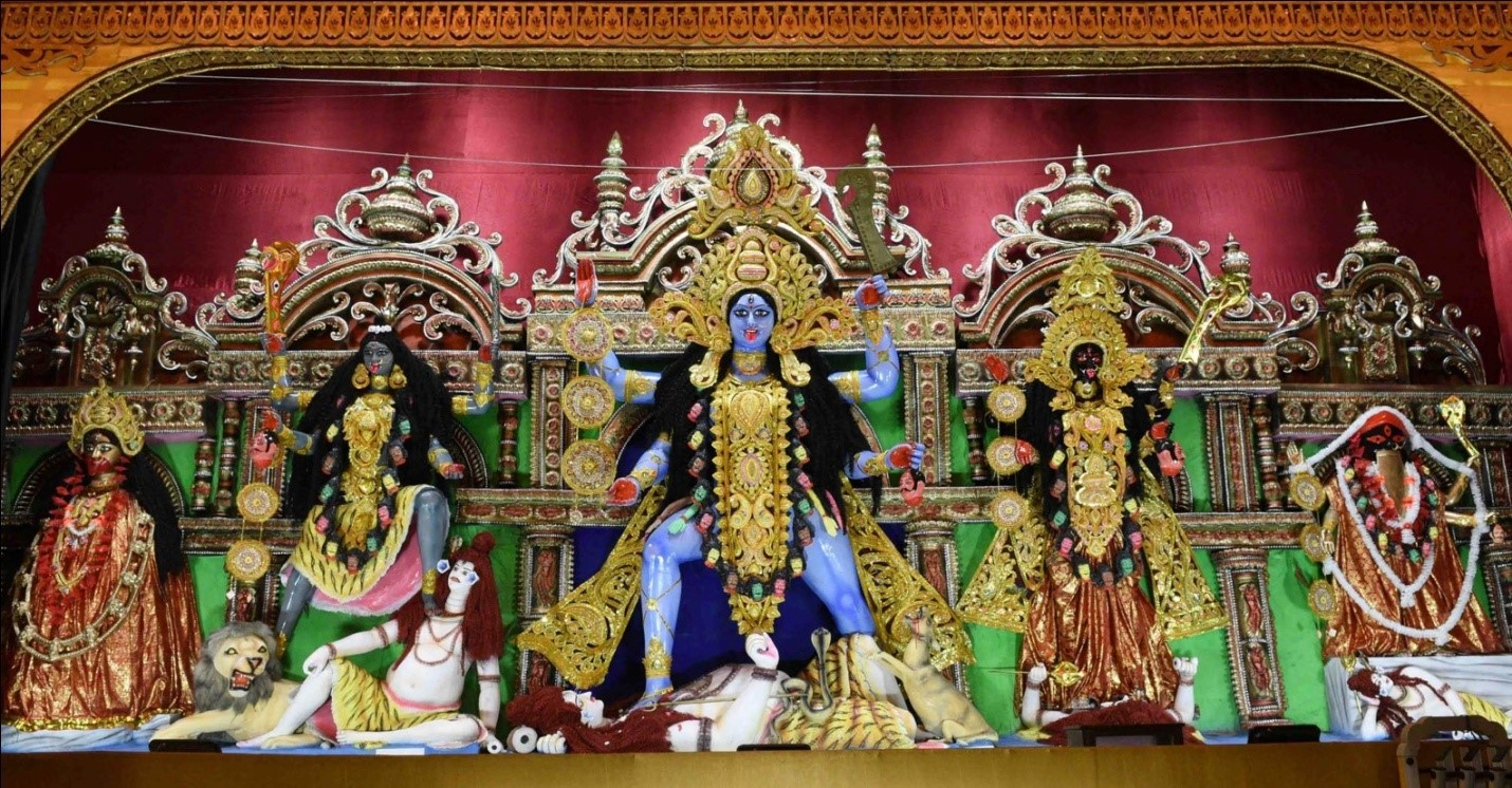 Kali Puja - worship of the supreme goddess of power (PC - AITC official site)