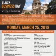 2019 Black Business Day at the State Capitol