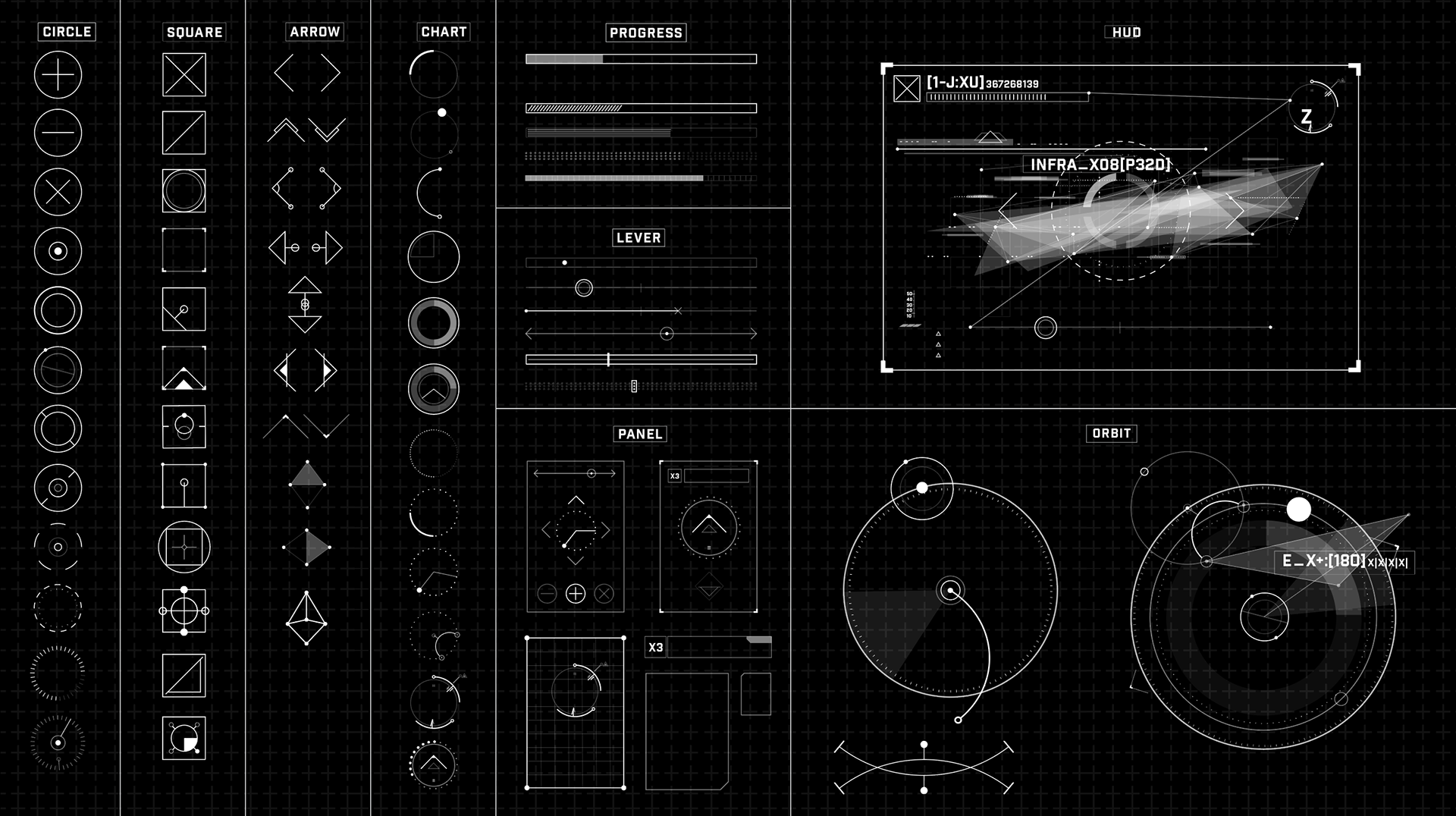 UI Kit for Autodesk 2