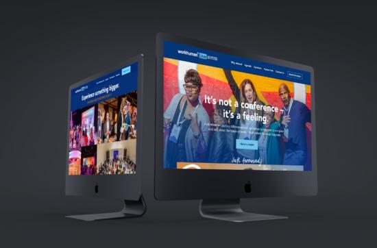 Workhuman Live 2020 Web Design