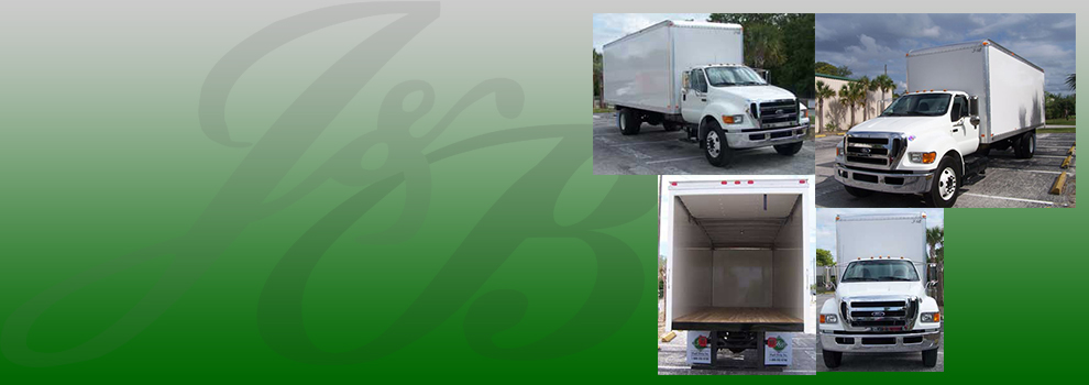 J&B customizes your Dry Freight vehicles!