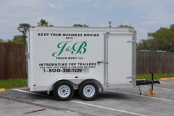 J&B customizes trailers.