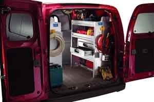 J&B can upfit your van with Ranger Design Storage Modules. At Ranger Design they've heard from tradesmen in the field and have understood their frustration with poor quality van drawers that jam, sag, and don't latch properly. That's why they've designed a solution that works. For more information regarding the this line of storage modules please call our sales team at 800-330-1229