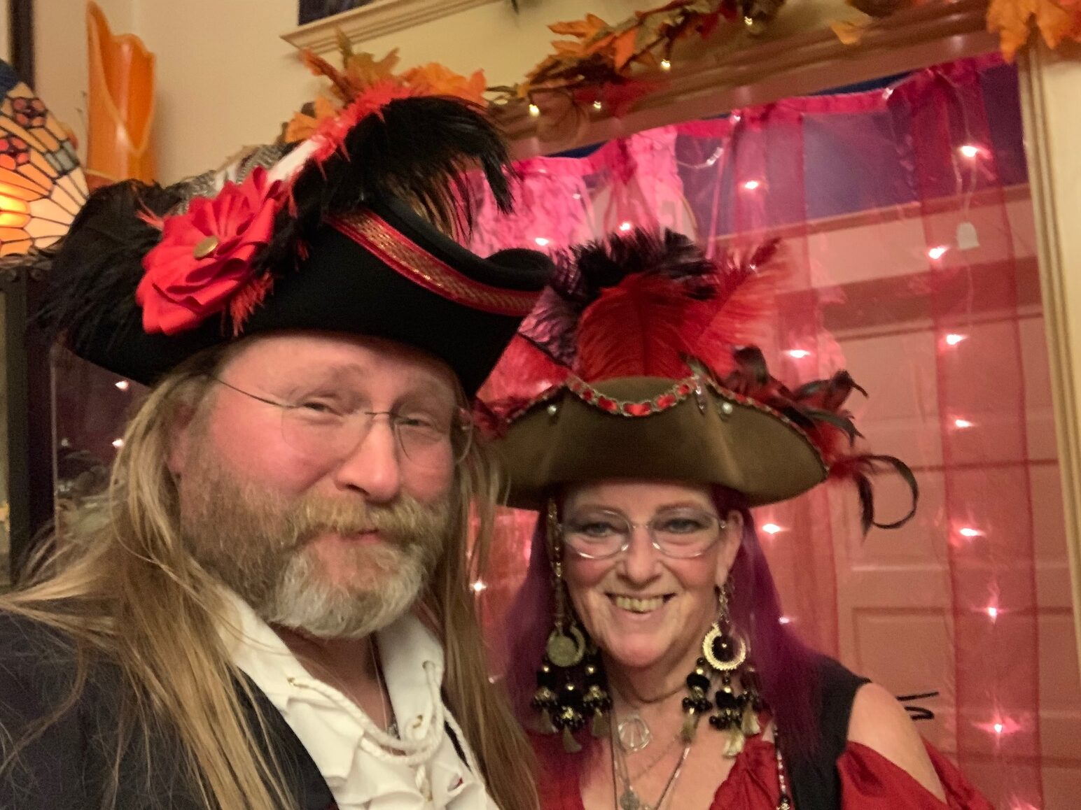 Correct Pirate Photo of Eric and Susan