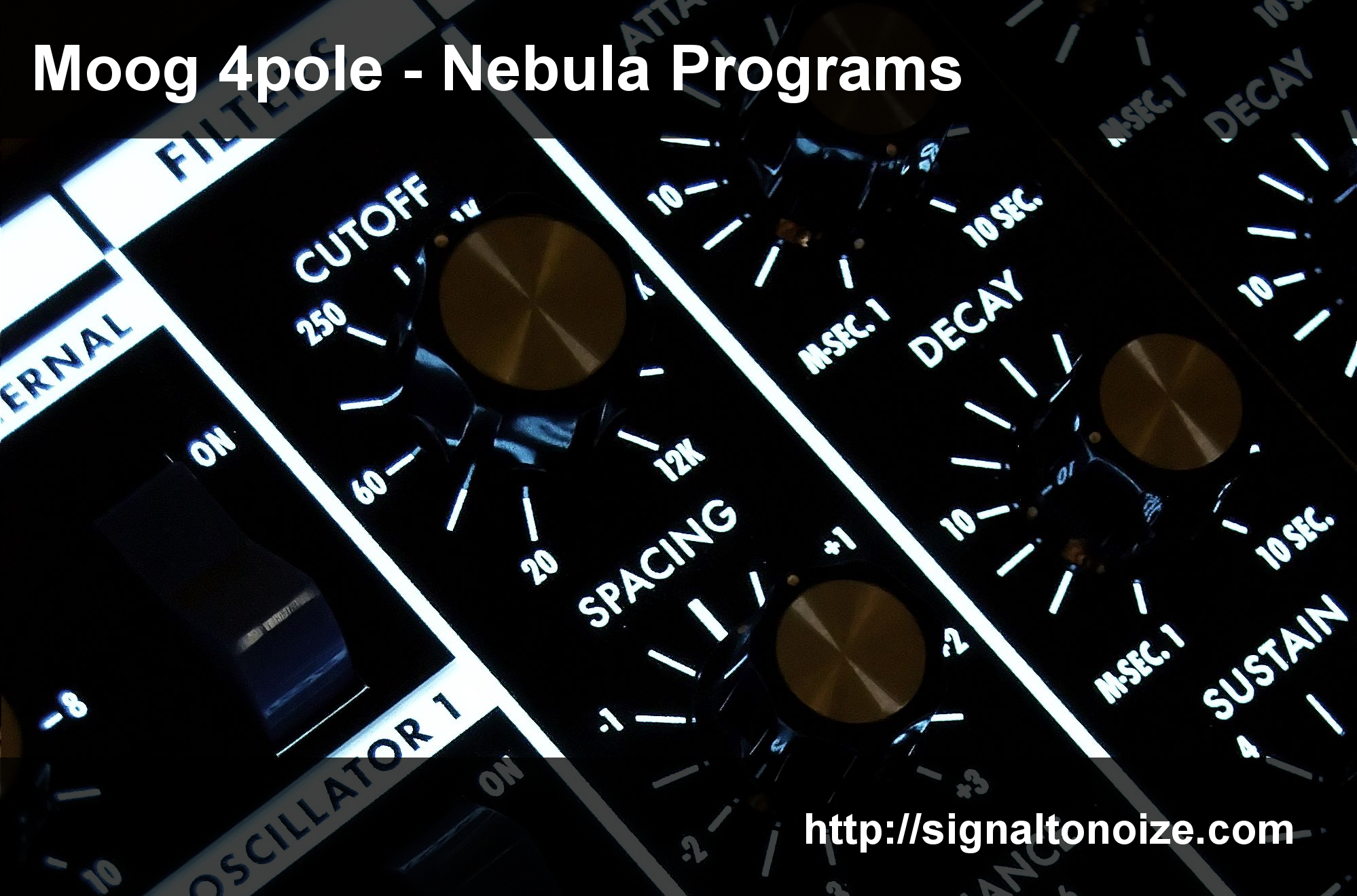 Moog 4pole – Nebula Programs