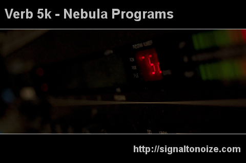 Verb 5k – Nebula programs
