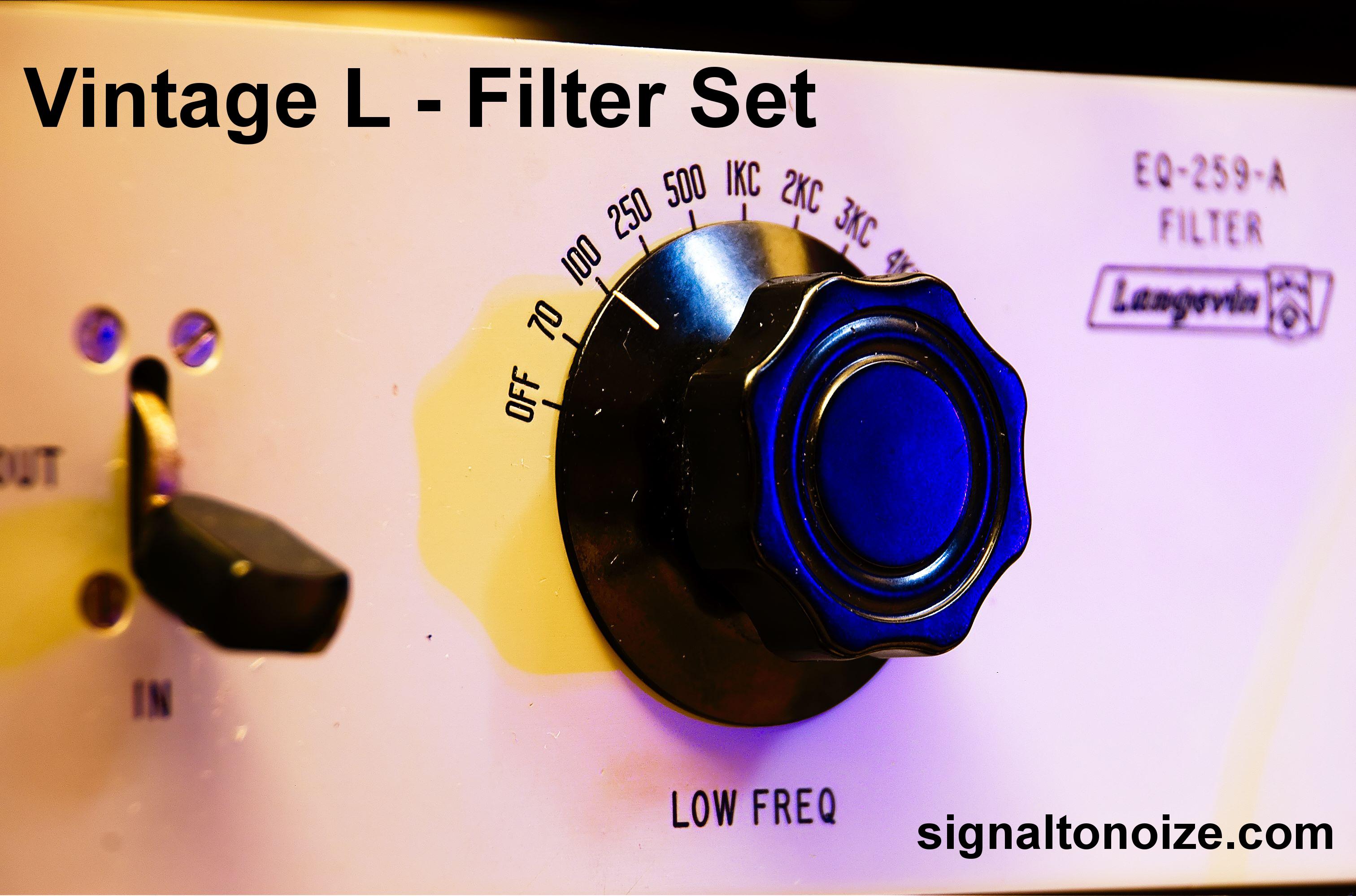 Vintage L Filter Set – Nebula Programs