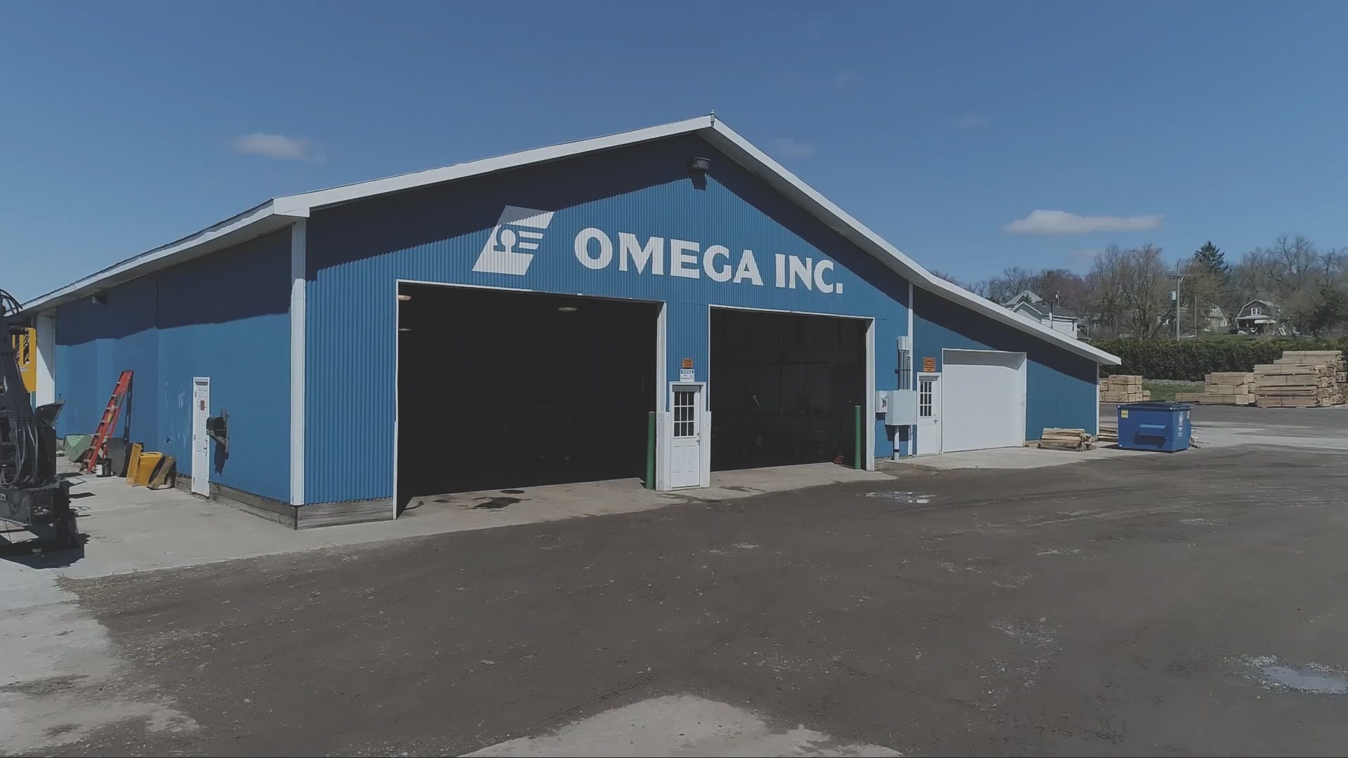 Omega Incorporated exterior