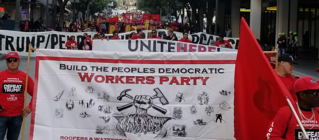 Build the Peoples Democratic Workers Party!