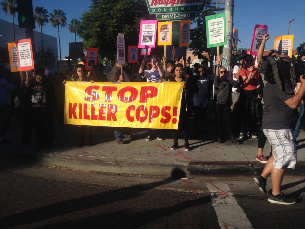 Crenshaw & MLK for Mike Brown