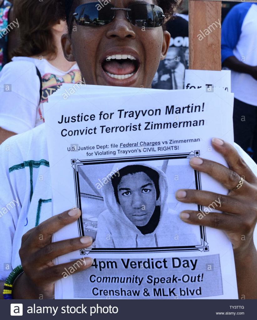 2013- Led the Trayvon Martin Crenshaw protests.