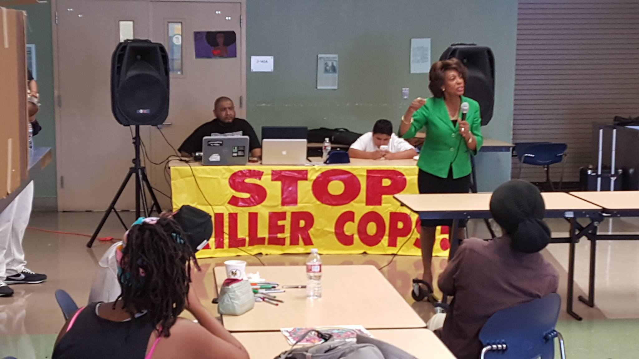 Maxine Waters at our conference