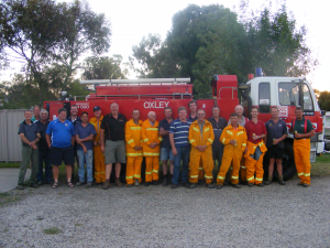 Oxley Rural Fire Brigade 2011